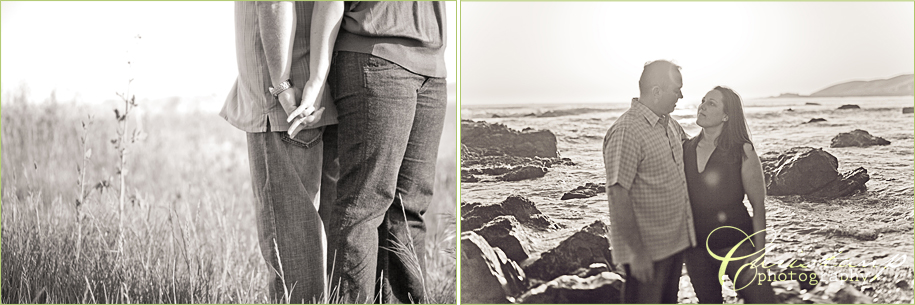 Cayucos Engagement Session by San Luis Obispo Wedding Photographer Christan Parreira