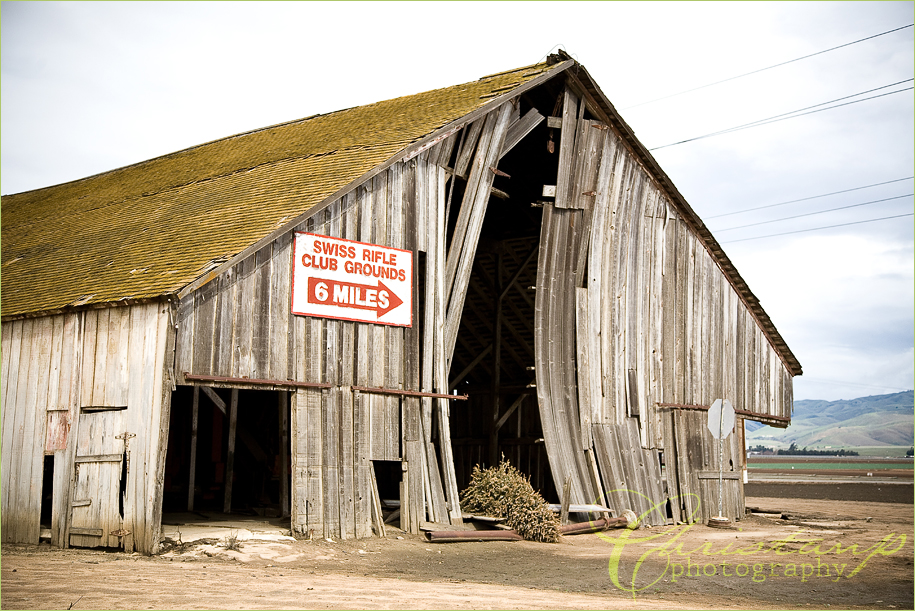 An Old Barn off of the 101