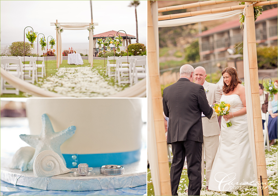 Shell Beach Wedding by Christan Parreira