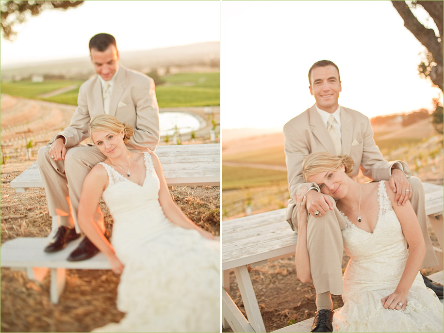 Pear Valley Vineyard Wedding by Christan Parreira